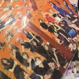 Girls' Generation 少女時代 - 卡簿