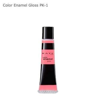 Kate Color Enamel Gloss PK-1