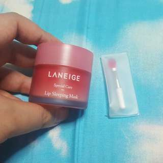 LANEIGE Lip Sleeping Mask (No trading)*Yishun Mrt*