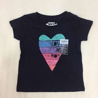 "Oshkosh ""love my mom"" shirt"