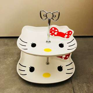 sanrio hello kitty cup cake碟 有意pm