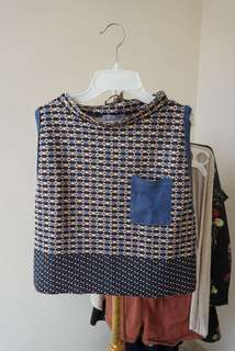 Zara top pattern
