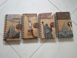 ⛤ BN New York & London theme Note Books