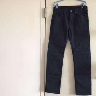 Navy blue Levi's Jeans