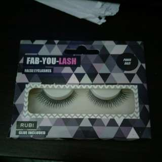 BN free postage rubi pariz daze false eyelashes with glue