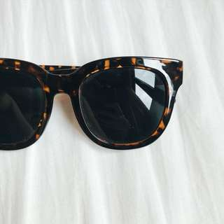 Gentle Monster-inspired Shades in Tortoiseshell