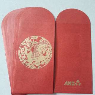 ANZ Horse Zodiac red packets