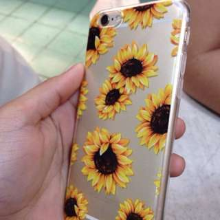 SUNFLOWER IPHONE CASE FOR 6/6s
