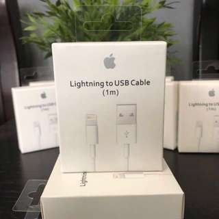 CHEAPEST ORIGINAL IPHONE LIGHTNING CABLE (1m)