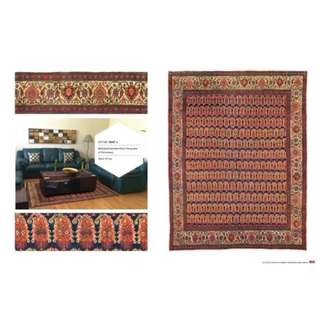 SAMEYEH LOT NO 16047 Antique BIBIKABAD from w.persia 236 x 177 cm