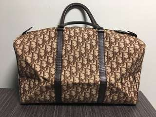 Dior vintage Boston bag travel bag