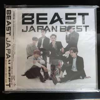 [全新]Beast Japan Best 初回限定盤 CD+DVD+U-CONNECT