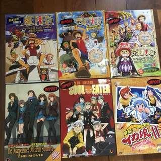 Anime dvd/ discs 2