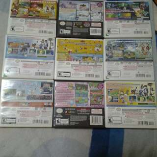 Nintendo DS and Nintendo 3DS Games (Used) Prices from $15 to $30 Fixed.