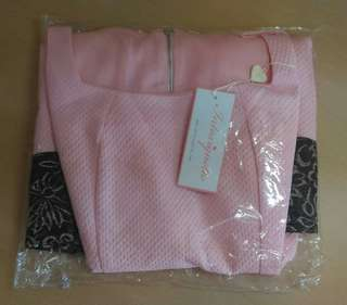 BN Pink Work Dress from Intoxiquette Blogshop
