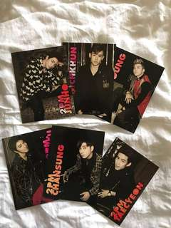 2pm album Hands Up + free photo cards