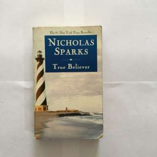 Nicholas sparks' TRUE BELIEVER
