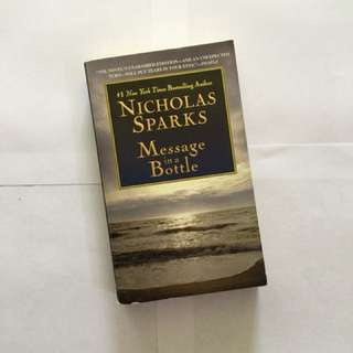 Nicholas Sparks' MESSAGE IN A BOTTLE