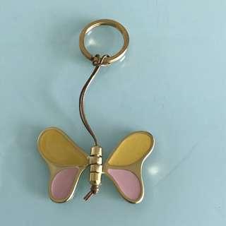 Furla butterfly key chain