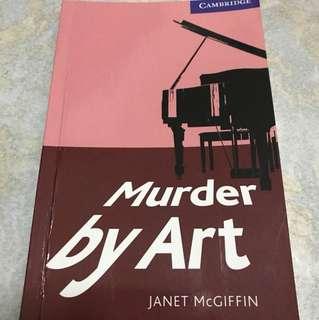 英語小說《Murder by Art》