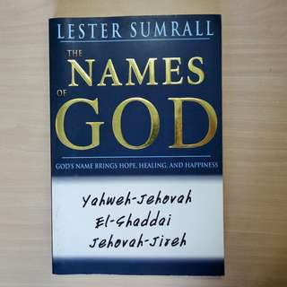 Names Of God by Lester Sumrall