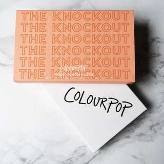 Colourpop The Knockout Pressed Powder Blush & Highlighter Palette