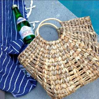 Handmade Summer Tote Bag
