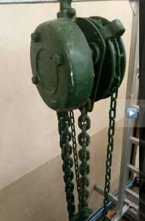 3.5 tons capacity chain block
