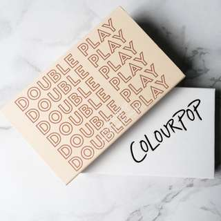Colourpop Double Play Pressed Powder Blush & Highlighter Palette