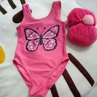 Swimsuit kupu pink