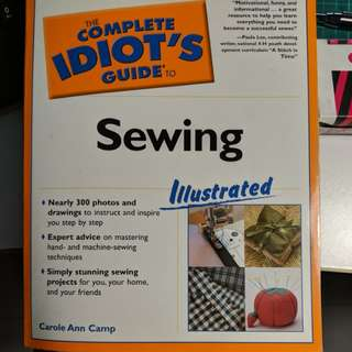Sewing book guide