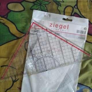 A04 - PENGGARIS SEGITIGA ZIEGEL