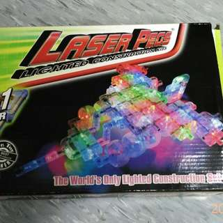 Laser Pegs Light construgtion Kits