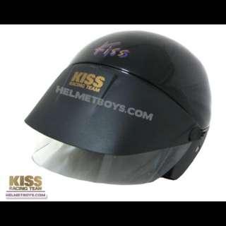 Kiss Shorty Motorcycle Helmet