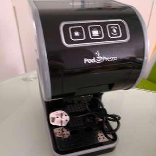 Pod Presso 咖啡機