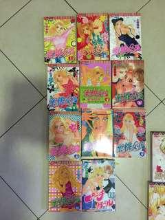 Japanese anime Peach Girl 蜜桃girl (11 books)