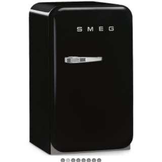 Reduced Price! SMEG black personal ref