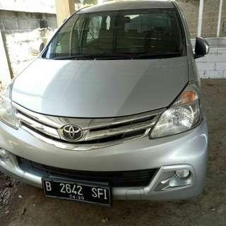 Dp.18jt angsuran 4jtaan 4th Toyota Avanza 2015