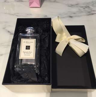 Authentic Jo Malone London EMPTY Perfume Bottle & Box