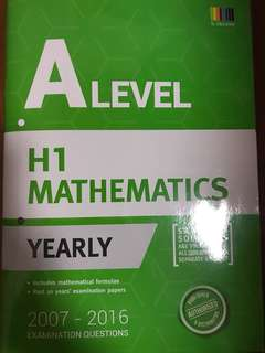 A Level H1 Mathematics TYS (2007-2017)