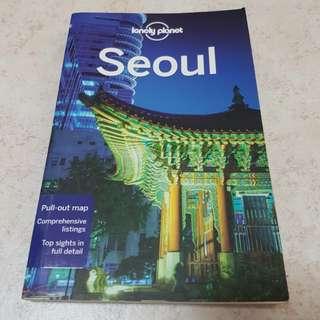 Seoul travel guide book