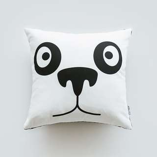 Bamboo Panda Cushion - Bantal Sofa - 40 x 40