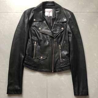Zara TRF biker jacket 皮褸