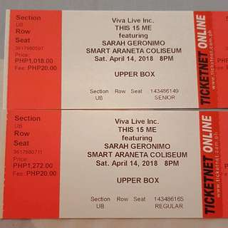THIS 15 ME SARAH GERONIMO