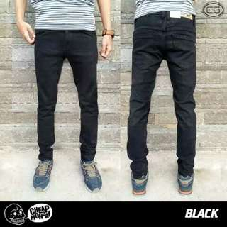 CHEAP mONDAY BLACK JEANS CELANA DENIM