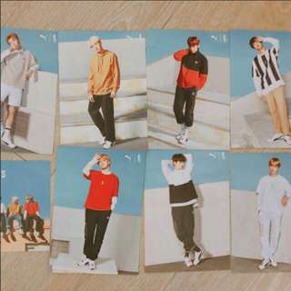 [WTS] PUMA X BTS TURIN Loose Photocards