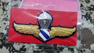 Royal Thai Airforce Airborne wing metal