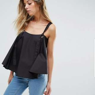 ASOS Cotton Cami with Hardware Details