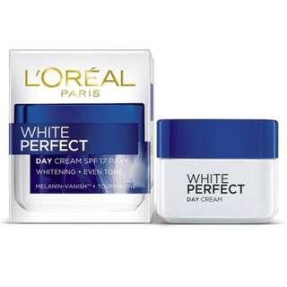 LÓreal Paris White Perfect Day Cream SPF17 PA++