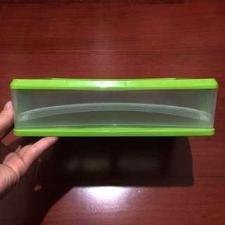 🚚 大創草綠收納盒